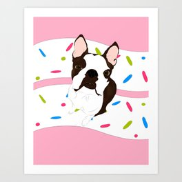 Luna's 3rd Birthday! Art Print