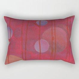 reddish sphere Rectangular Pillow