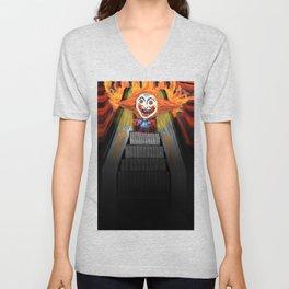 Sick Again - Scary Clown Unisex V-Neck