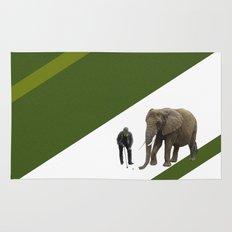 the elefant's 19th hole Rug