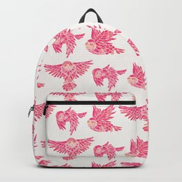 Owls in Flight – Pink Palette Backpack