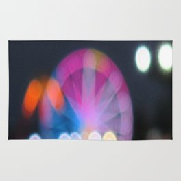 Ferris Wheel, Macro, Pastels, Fairy Star, Soft Colors, Rug