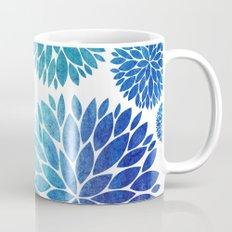 Ocean Flowers Watercolor Mug