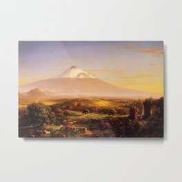 Thomas Cole - Mount Aetna from Taormina Metal Print