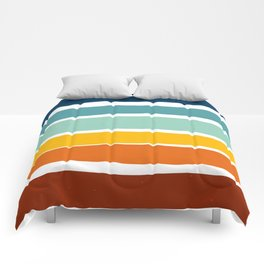 Irregular Stripes Comforters