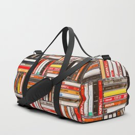 Something Nostalgic - III - Colored Version #decor #society6 #buyart Duffle Bag