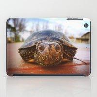 turtle iPad Cases featuring Turtle by Anna Milousheva