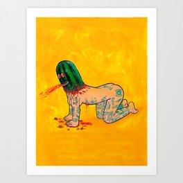 Morra Loca Art Print