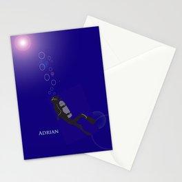 Scuba Adrian Stationery Cards