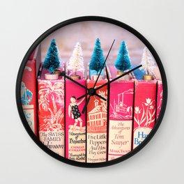 Classic Christmas Chr Wall Clock