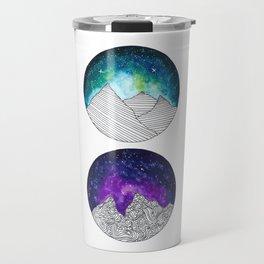 Galaxy Moons Travel Mug