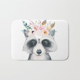 Forest Raccoon by Nature Magick Bath Mat