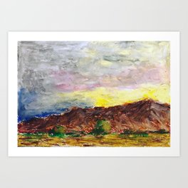 Past Palm Springs Art Print