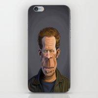 tom waits iPhone & iPod Skins featuring Celebrity Sunday ~ Tom Waits by rob art | illustration