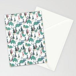 Dinosaur Hygge Stationery Cards