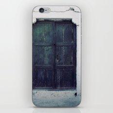 Santorini Door II iPhone & iPod Skin