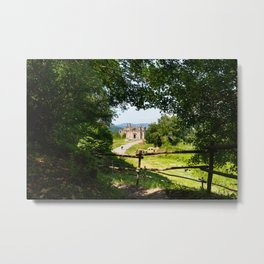 The abandoned ancient Monterano Metal Print