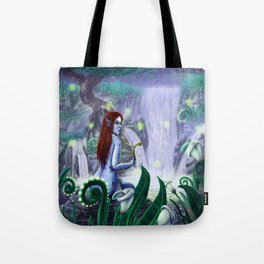 The Golden Harp Tote Bag