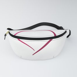 Heart in Style by LH Fanny Pack