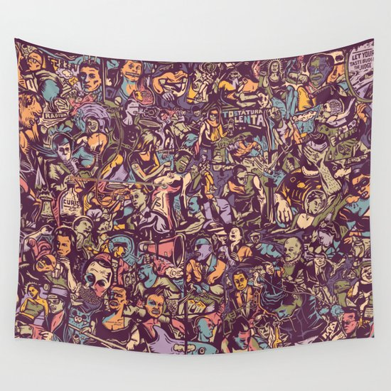 O formonsum spectaculum Wall Tapestry