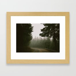 Driving Through Oregon Framed Art Print