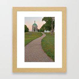 Antietam Twilight Framed Art Print