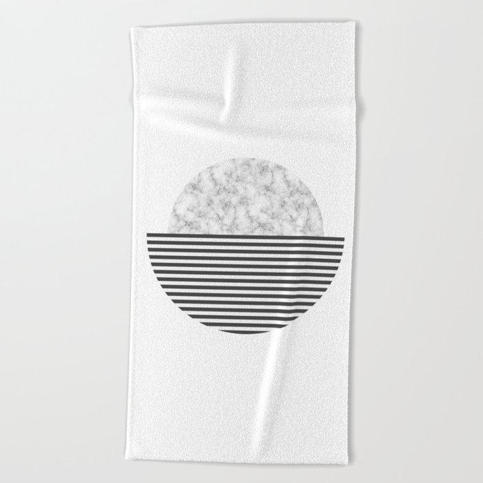 Marble Sun Beach Towel