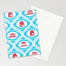 Art Deco Hats Stationery Cards