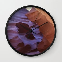 Antelope  Canyon #4 Wall Clock
