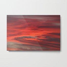 Fall sky Metal Print