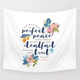 Perfect Peace Wall Tapestry