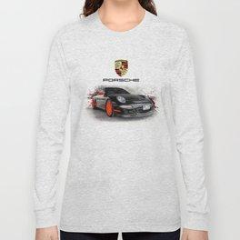Cars: Porsche GT3 RS Long Sleeve T-shirt