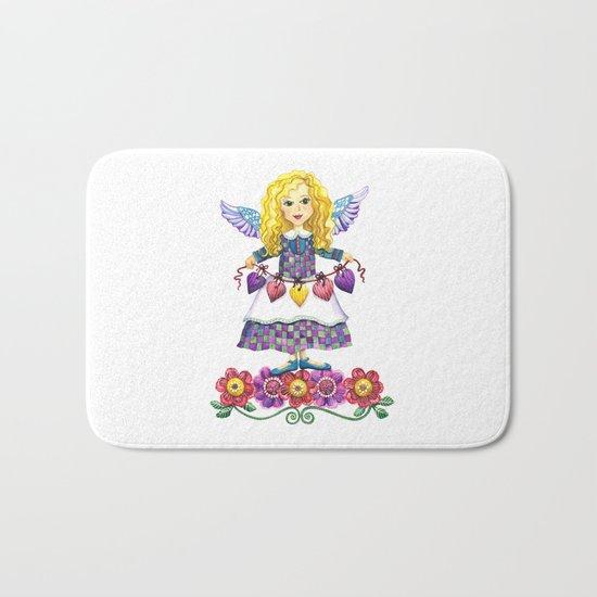 Angel Love Bath Mat