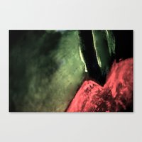 lip Canvas Prints featuring Lip by Shadoe Leibelt