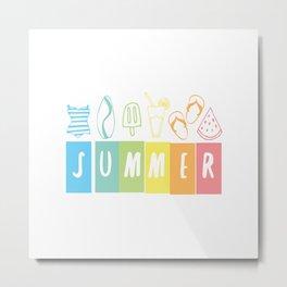 SUMMER! Metal Print