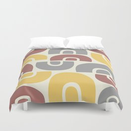 Mid Century Modern Abstract Composition 523 Duvet Cover