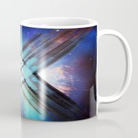 sci fi Mugs featuring Sci-Fi Shards by Alli Vanes