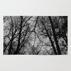 Trees at Mottisfont Rug