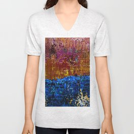 Sun will Never set for you (middle closeup) Unisex V-Neck