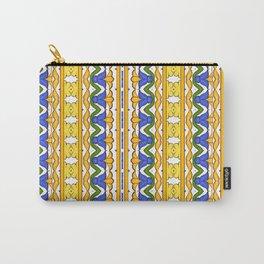 Sicilian summer majolica motifs pattern  Carry-All Pouch