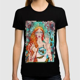 Butterflies Queen T-shirt
