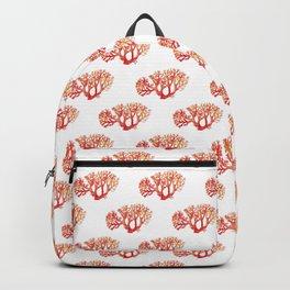 Coral watercolor painting print art botanical Backpack