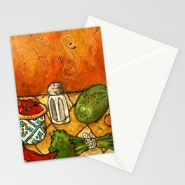 Picante Kitchen Art Stationery Cards