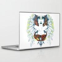 indie Laptop & iPad Skins featuring Indie by chiara costagliola