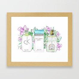 Perfumes Series 3 Framed Art Print