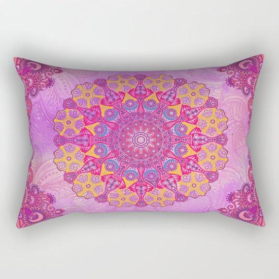 Mandala or something Rectangular Pillow