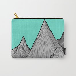 The Green Sky Over The Mountains Carry-All Pouch
