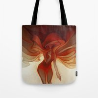 loish Tote Bags featuring Wrapped by loish