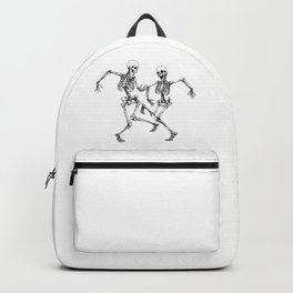 Dancing Skeleton Couple Backpack