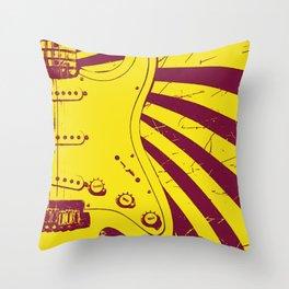 Half sound Throw Pillow